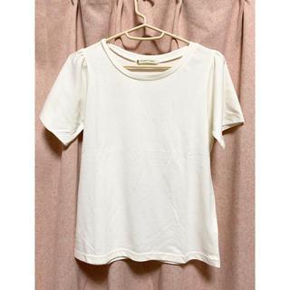 マジェスティックレゴン(MAJESTIC LEGON)のホワイトトップス(Tシャツ/カットソー(半袖/袖なし))