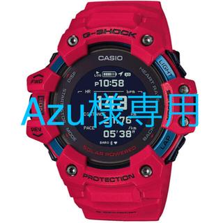 ジーショック(G-SHOCK)のカシオ 腕時計 ジーショック レッド G-SQUAD GBD-H1000-4JR(腕時計(デジタル))