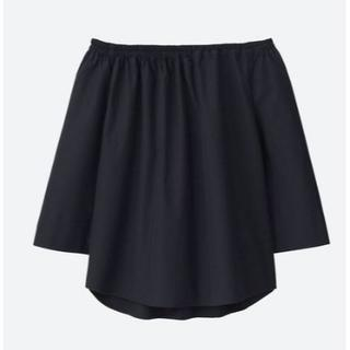 ユニクロ(UNIQLO)の新品 ユニクロ エクストラファイン コットン オフショルダー(Tシャツ(長袖/七分))