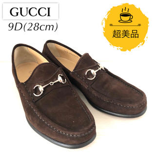 Gucci - 【超美品】グッチ GUCCI ホースビットローファー 28cm 茶