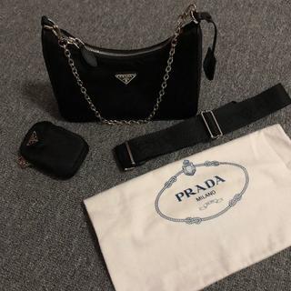 PRADA - PRADA HOBO 3WAYチェーンショルダーバッグ