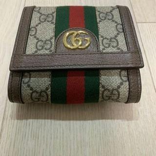 グッチ(Gucci)のGUCCI IWG 8745 折りたたみ財布(折り財布)