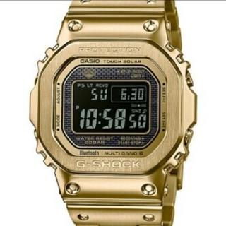 ジーショック(G-SHOCK)の【新品未使用品】カシオ Gショック 腕時計 電波時計 ゴールド 正規品(腕時計(デジタル))