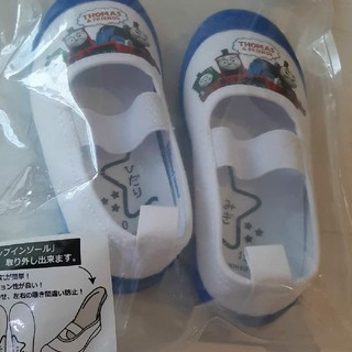 バンダイ(BANDAI)のトーマス 上靴 上履き うわばき スクールシューズ シューズ 新品 15cm(スクールシューズ/上履き)