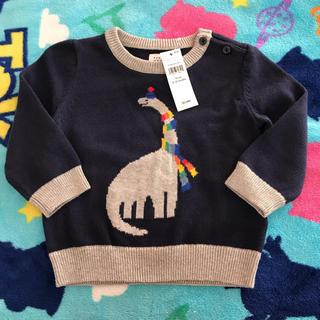babyGAP - GAP セーター 恐竜 70 新品