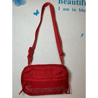 シュプリーム(Supreme)の新品同様 SUPREME シュプリーム ショルダーバッグ ボディバッグ 赤レッド(ボディーバッグ)