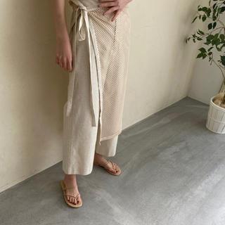 TODAYFUL - i_am original mesh apron pants