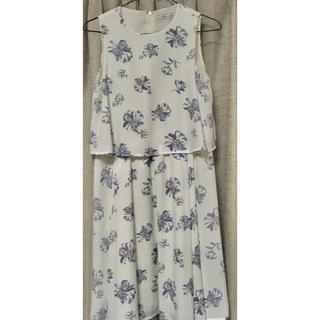クチュールブローチ(Couture Brooch)の花柄ワンピース(ひざ丈ワンピース)