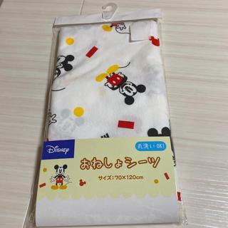 ディズニー(Disney)の新品未開封おねしょシーツ防水シーツ 防水加工 ディズニーミッキー⑤(シーツ/カバー)
