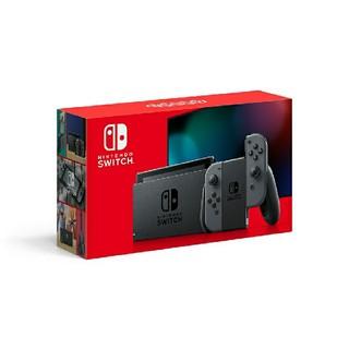 Nintendo Switch - 新品未開封 Nintendo Switch 本体 グレー 新モデル ニンテンドー