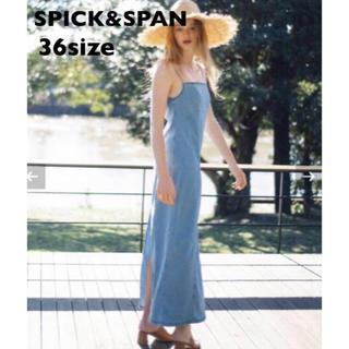 Spick and Span - 【新品】SPICK&SPAN U×MIRAI.M デニムマキシドレス