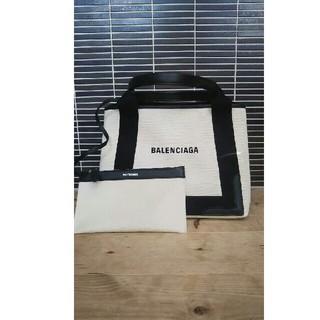 バレンシアガ(Balenciaga)のBALENCIAGA バレンシアガ ネイビーカバ S トートバック(トートバッグ)