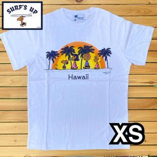 PEANUTS - XS 1点のみ!新品 ハワイ限定 モニホノルル 日焼けスヌーピー Tシャツ