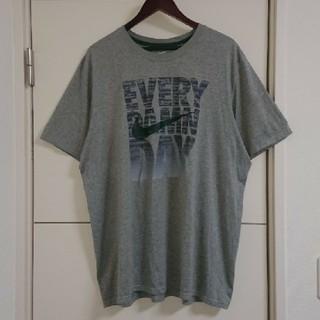 NIKE - NIKE ナイキ Tシャツ 古着 ビッグプリント スウォッシュ DRY-FIT