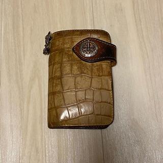 ALZUNI 革 財布 キーケース(折り財布)