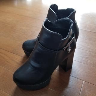 厚底ショートブーツ(ブーツ)