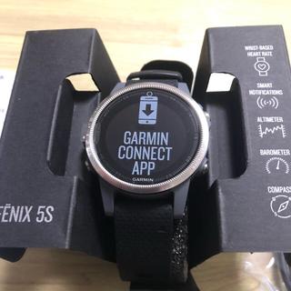 ガーミン(GARMIN)のガーミン fenix 5s(腕時計(デジタル))