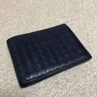 ボッテガヴェネタ(Bottega Veneta)のボッテガヴェネタ イントレチャート メンズ二つ折り財布(折り財布)