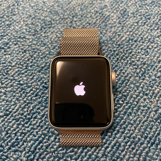 アップルウォッチ(Apple Watch)のApple Watch series3 シルバー 42mmセルラーモデル アルミ(腕時計(デジタル))