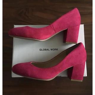 GLOBAL WORK - *【GLOBAL WORK】チャンキーヒールパンプス〈新品未使用箱付き〉*