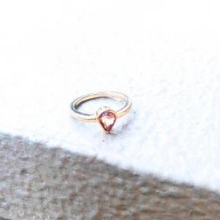 アーカー(AHKAH)のpink serpente ring*ピンクセルペンティリング(リング(指輪))
