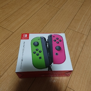 任天堂 - Switch Joy-Con(L) ネオングリーン/(R) ネオンピンク