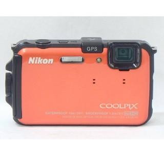 ニコン(Nikon)のNikon COOLPIX AW100 サンシャインオレンジ 5X ZOOM(コンパクトデジタルカメラ)