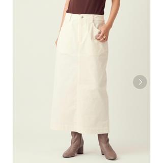 ガリャルダガランテ(GALLARDA GALANTE)のコーディロイAラインスカート SCOLLAGE(ロングスカート)