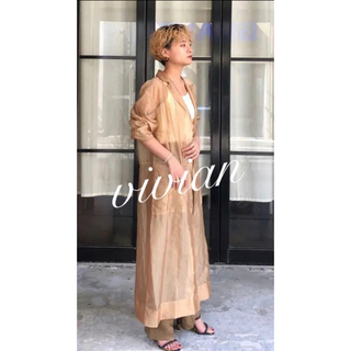 TODAYFUL - Todayful トゥデイフル sheer shirts gown
