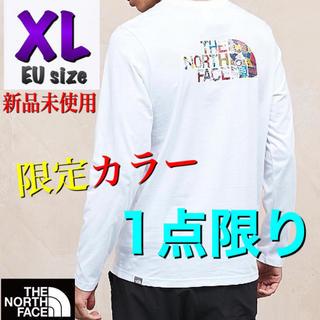 ザノースフェイス(THE NORTH FACE)の◆海外限定◆THE NORTH FACE ノースフェイス ロンT ホワイト XL(Tシャツ/カットソー(七分/長袖))