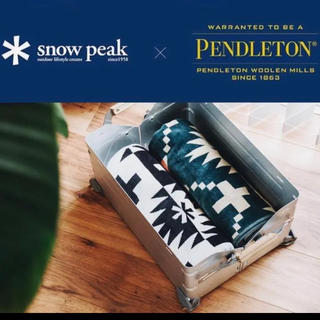 スノーピーク(Snow Peak)の★限定品★スノーピーク×ペンドルトン ブランケット(寝袋/寝具)