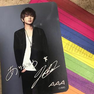 AAA - AAA10th anniversary AAA展 カードNissy