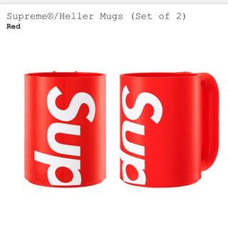 シュプリーム(Supreme)のSupreme®/Heller Mugs (Set of 2)  マグカップ(グラス/カップ)