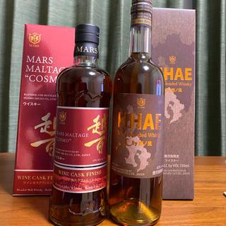 マース(MARS)のマルス 越百 ワインカスク フィニッシュ hhae(ウイスキー)