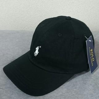 POLO RALPH LAUREN - 新品タグ付き ポロ・ラルフローレン 帽子 ブラック/ホワイトポニー 高品質