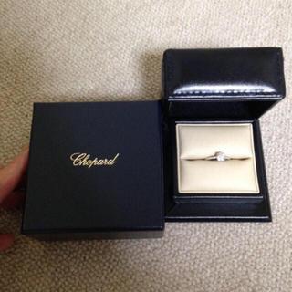 ショパール(Chopard)のCHOPARD【ショパール】大粒ダイヤモンドリング(リング(指輪))