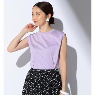 デミルクスビームス(Demi-Luxe BEAMS)のDemi-Luxe BEAMS スムースノースリーブプルオーバー(Tシャツ(半袖/袖なし))