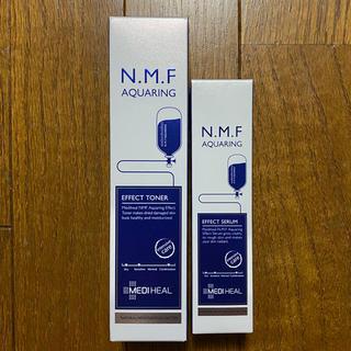 チャアンドパク(CNP)の【新品】メディヒール N.M.Fアクアリングエフェクトセラム・トナー(化粧水/ローション)