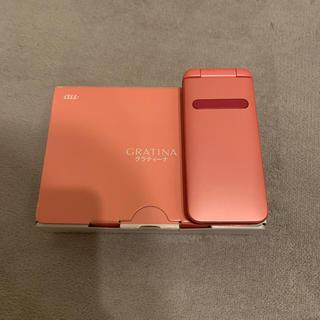 キョウセラ(京セラ)のau GRATINA KYF37SPA(携帯電話本体)