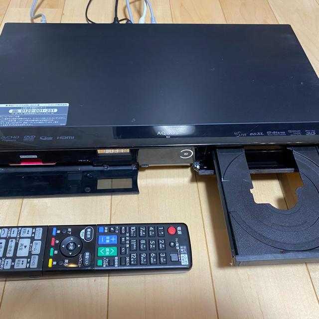 SHARP(シャープ)のSHARP AQUOS ブルーレイレコーダー BD-W515【値下げ不可】 スマホ/家電/カメラのテレビ/映像機器(ブルーレイレコーダー)の商品写真