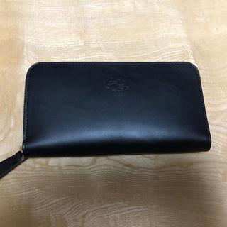 トチギレザー(栃木レザー)の新品未使用 革蛸 栃木レザー使用 ラウンドジップウォレット ハンドメイド 日本製(長財布)