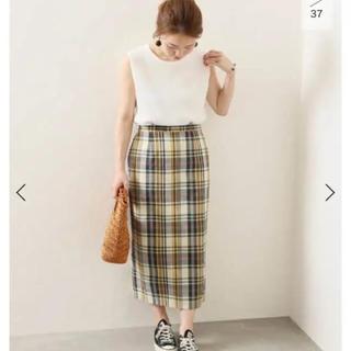 JOURNAL STANDARD - 【美品】ジャーナルスタンダード レリューム購入 チェック スカート