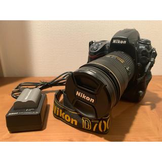ニコン(Nikon)のNikon D700 一眼レフAF-S 24-70/2.8G EDレンズ セット(デジタル一眼)