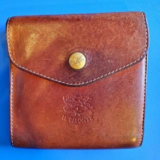 イルビゾンテ(IL BISONTE)のイルビゾンテ IL BISONTE 財布 二つ折り財布  ヌメ 革(折り財布)