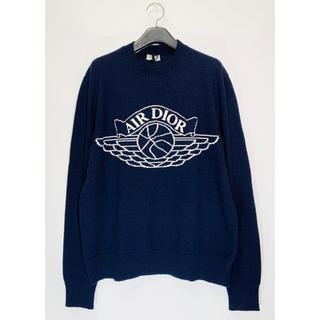 Christian Dior - 【人気カラー】DIOR×JORDAN AIR JORDAN LOGO Knit