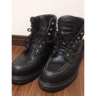 レッドウィング(REDWING)のレッドウィング 黒ブーツ スーパーソール (ブーツ)