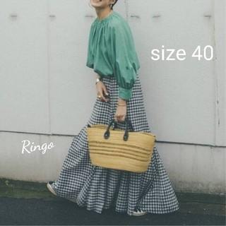 FRAMeWORK - 【2020SS】高山 都×FRAMeWORK スカート◆size 40