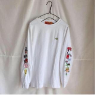 BEAMS - レフトアローン レア 刺繍 ロンT