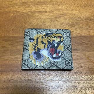 gucci 財布 タイガー 二つ折り(折り財布)