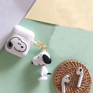 スヌーピー(SNOOPY)のAir Podsケース♡SNOOPY(iPhoneケース)